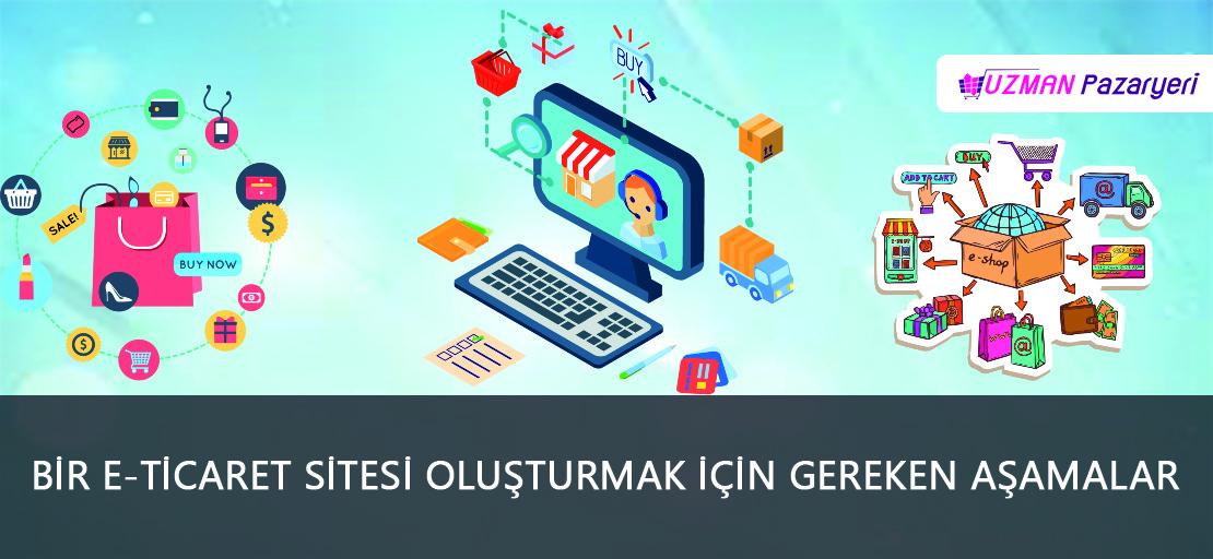 Bir E-ticaret Sitesi Oluşturmak İçin Gereken Aşamalar