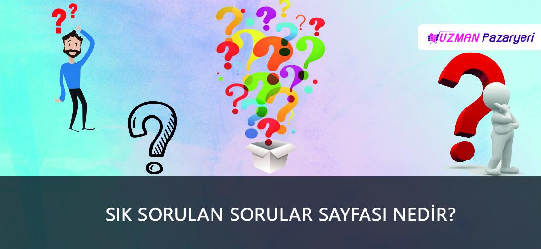 Sık Sorulan Sorular Sayfası Nedir?